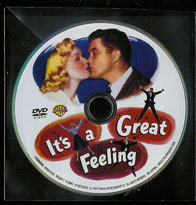 It's a Great Feeling ** FREE S/H** (DVD) Doris Day - But No Case