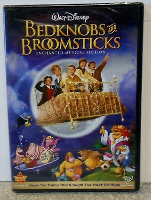 Bedknobs and Broomsticks (DVD, 2009, Enchanted Musical Edition) RARE DISNEY NEW