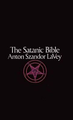 Satanic Bible by Anton Szandor LaVey 9780380015399 | Brand New