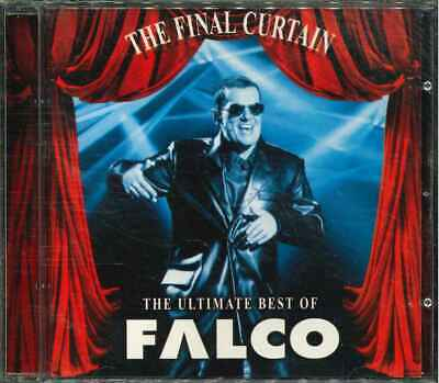 """FALCO """"The Final Curtain - The Ultimate Best Of"""" CD-Album"""