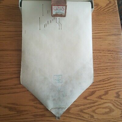 VTG QRS Player Piano Word Roll 7490 Hawaiian Sunset