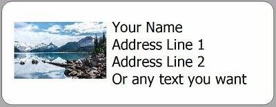 Your Favorite Picture on Address Labels- 30 Photo Return Address Labels