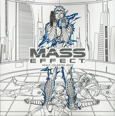 Mass Effect Adult Coloring Book SC (Dark Horse) #1-1ST 2017 NM Stock Image