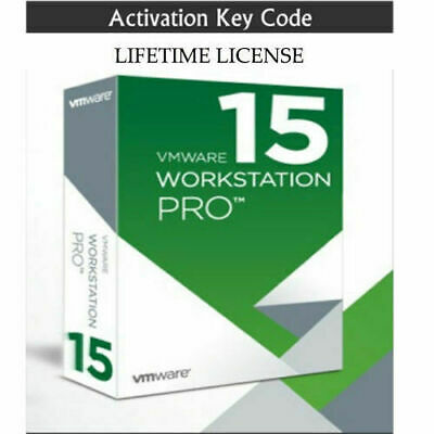 VMWARE Workstation 15 pro ,Lifetime ,Fully Licensed Version ,5 pc,s