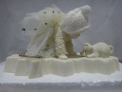 """Department 56 Snowbabies snowDream Collection """"Difficulty On Ice"""" Figurine 2012"""