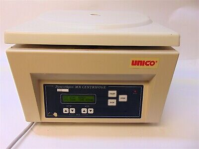 Unico PowerSpin MX Centrifuge Model MX-C8606 With 24 Slot Rotor S4014