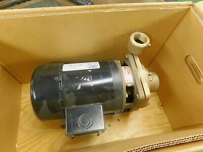 Burks Pump with Century 1 HP AC Motor