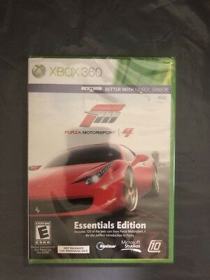 Forza Motorsport 4 for Microsoft Xbox 360 BRAND NEW sealed better with Kinect