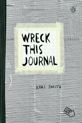 Wreck This Journal (Duct Tape) by Keri Smith 9780399162701 | Brand New