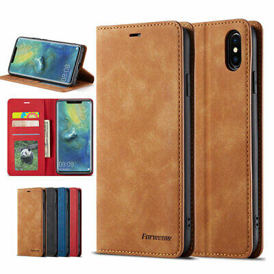 For Huawei P30 Pro Lite PU Leather Flip Stand Case Wallet Magnetic Skin Cover UK