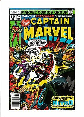 Captain Marvel No.54  : 1978 :   : Mark Jeweler Variant! :
