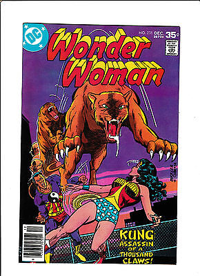 "Wonder Woman #238  [1977 Fn]  ""kung: Assassin Of A Thousand Claws!"""