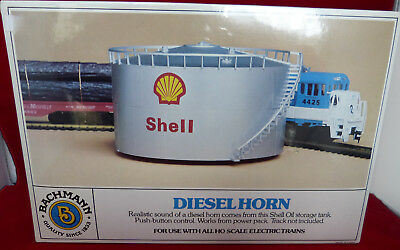 NEW Sealed N Scale Bachmann #46708 Operating Diesel Horn Shell Oil Storage Tank