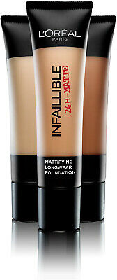 *L'Oreal Infallible 24h Matte Woman's Foundation 35ml - CHOOSE YOUR SHADE*