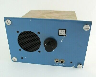 Vartek SP103/3 Electronic Box, Speaker, Mic, Phone XLR Input
