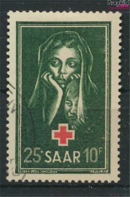 Saar 304 (complete issue) fine used / cancelled 1951 Red Cross (9282892