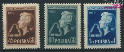 Poland 879-881 (complete issue) unmounted mint / never hinged 1954 Cho (9287096