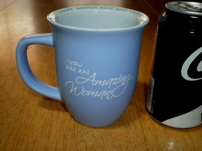 """ YOU ARE AN AMAZING WOMAN "", Ceramic Coffee Cup / Mug, VINTAGE"