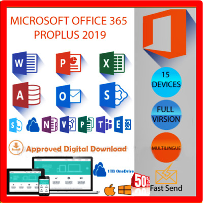 Microsoft Office 365 Subscription Lifetime 5 Devices
