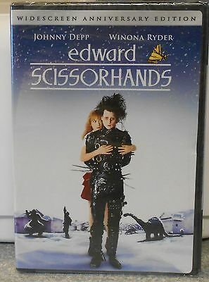 Edward Scissorhands (DVD 2005 10th Anniversary) RARE 1990 ROMANCE DRAMA NEW