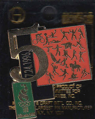 Rare Pins Pin's .. Olympique Olympic Jeux Atlanta 1996 Jour Day 5 Velo 24/07 ~16