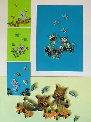 Quilling Kit - Terriers for Cards & Wall Art