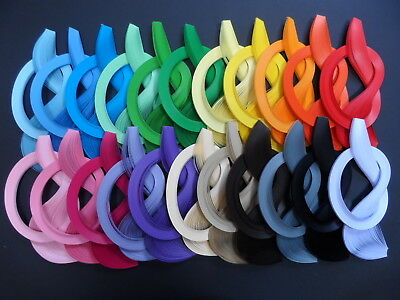 Quilling paper, 3mm, 100 strips , 450mm long