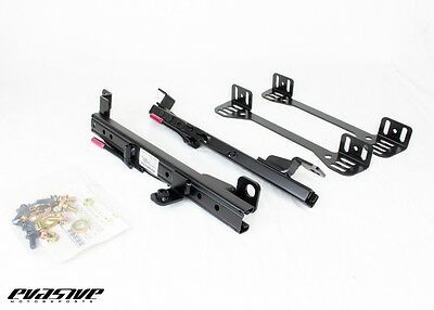 EVS Tuning Double Lock Low Position Seat Rail - Scion FRS / Subaru BRZ (Left)