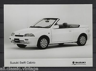 PRESS - FOTO/PHOTO/PICTURE - Suzuki Swift Cabrio