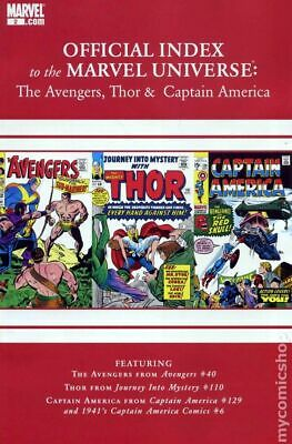 ☆CAPTAIN AMERICA BOOK-OFFICIAL INDEX TO THE MARVEL COMIC