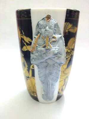 Antique Pharaonic Cup Vintage Egypt Coffee Nefertiti Egyptian Style Ancient