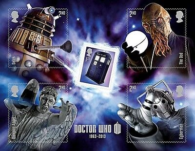 GB Stamps 2013 'Doctor Who' MS3451 - U/M