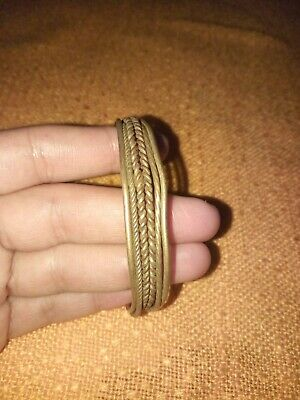 rare ancient bracelet viking bronze twisted artifact Stunning