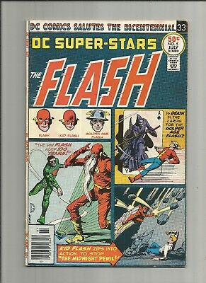 DC Super Stars  #5 1976 FN The Flash scarce  Bronze Age DC Comics US Comics