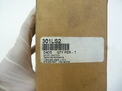 Microswitch 301Ls2 *New In Box*