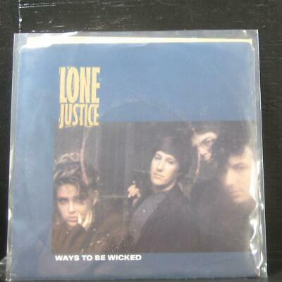 """Lone Justice - Ways To Be Wicked / Cactus Rose 7"""" Mint- 9290237 Vinyl 45"""