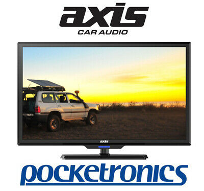 "Axis 24"" AX1524 12V HD 24 inch TV/DVD 60 cm PVR USB Moisture/Shock Resistant NEW"