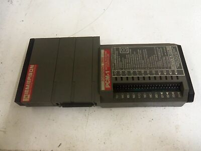 Emerson Pcm-1 Position Driver Motion Program Controller *Used*