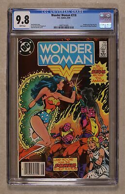 Wonder Woman (1st Series DC) #318 1984 CGC 9.8 1497131005