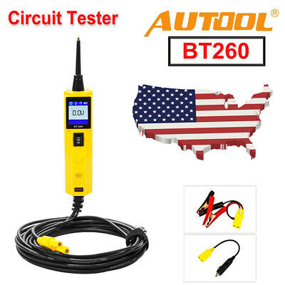 Hot Autool BT260 Electrical System LED Diagnostic Tool Automotive Circuit Tester