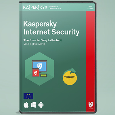Kaspersky Internet Security 2019 pc/device 1 year Windows-MAC-Antivirus Official