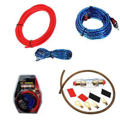 Peachy 1500W Audio Subwoofer 8 Gauge Amplifier Wiring Kit Rca Power Cable Wiring Digital Resources Remcakbiperorg