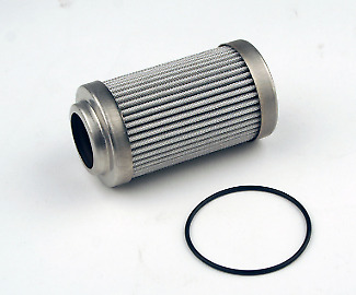 """Aeromotive 12650 Replacement Element for 12340/12350, 10-m microglass, for 2"""" OD"""
