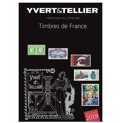 Yvert  Tellier 2019 Et 2018 Lot 2 Catalogues Timbres France - Promotion