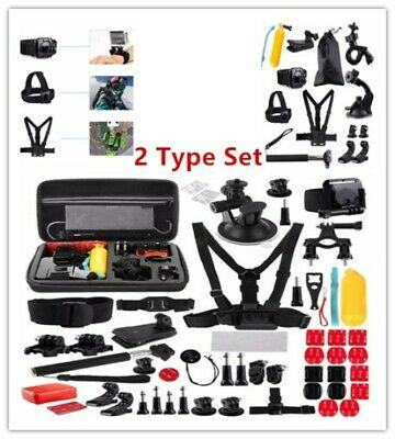 GoPro Hero Accessories Kit Set Action Camera Bundle Chest Strap Head Mount Sport