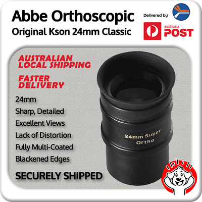 Kson Abbe Ortho (Orthoscopic) 24mm Fully Multi-Coated Eyepiece