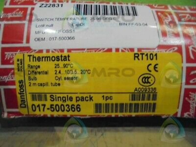 Danfoss 017-500366 Thermostat *New In Box*
