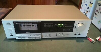 Very Nice Denon Cassette Tape Deck Dr-170 Working Well