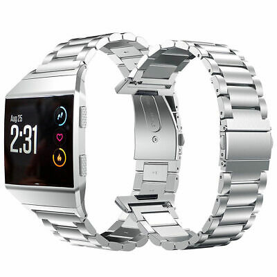 For Fitbit Ionic Stainless Steel Metal Bracelet Strap Replacement Watch Band New