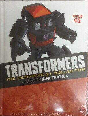 **NEW** Transformers The Definitive G1 Collection: Infiltration #45 13/5